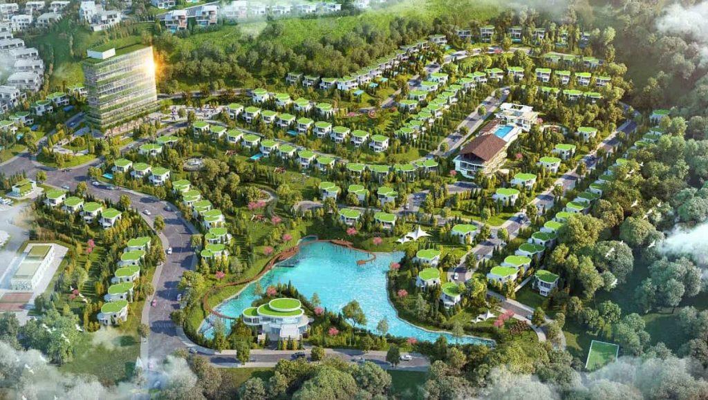 Phối cảnh toàn khu dự án nghỉ dưỡng Ivory Biên Hòa