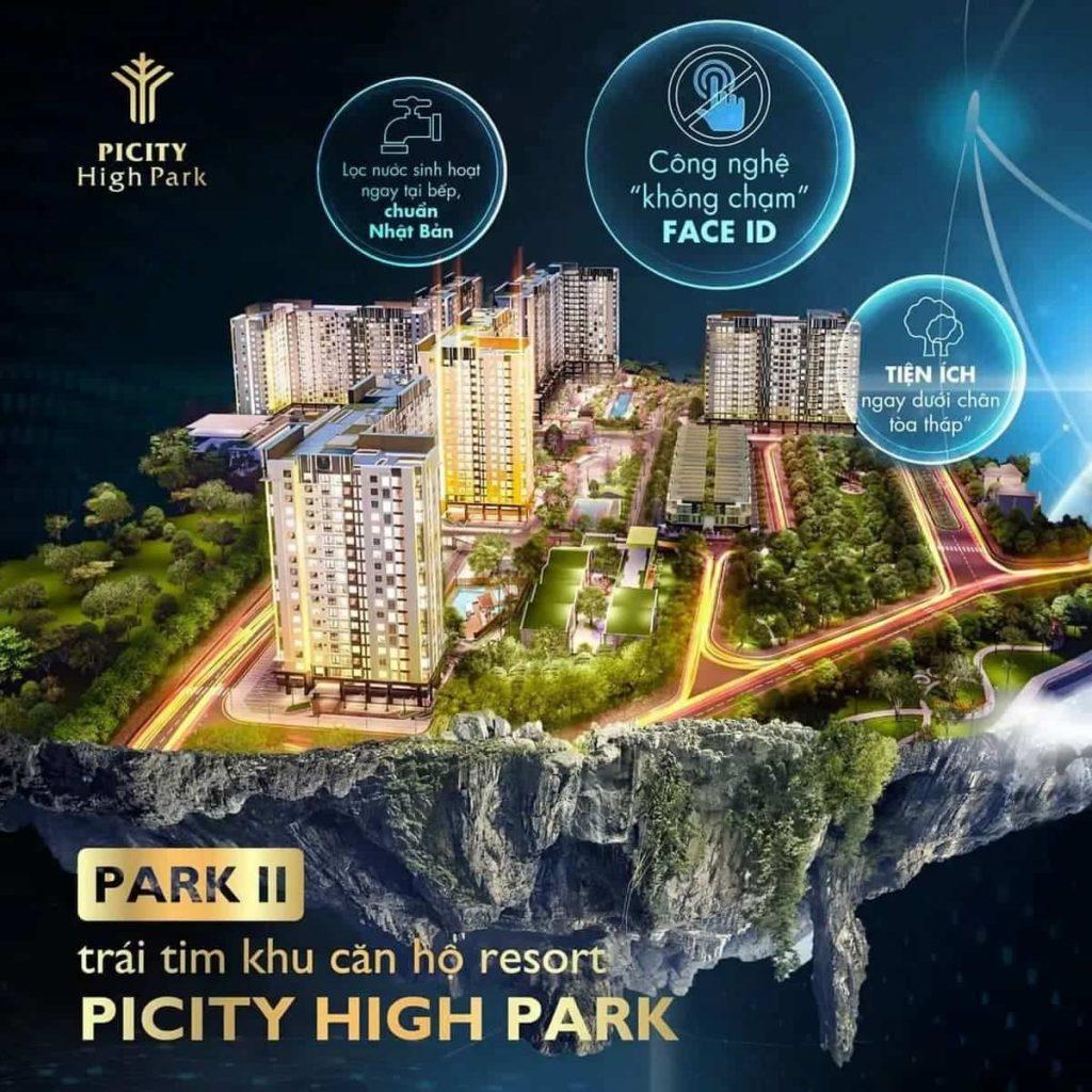 Picity High Park hội tụ đầy đủ mọi giá trị tiềm năng tương lai