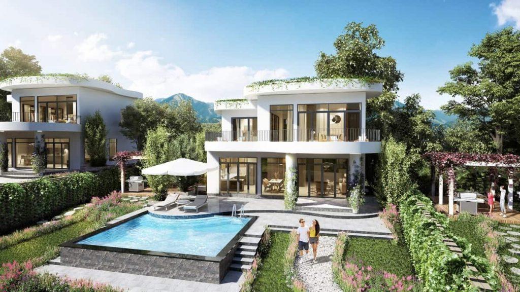 Thiết kế biệt thự sang chảnh với kiến trúc uốn lượn độc đáo