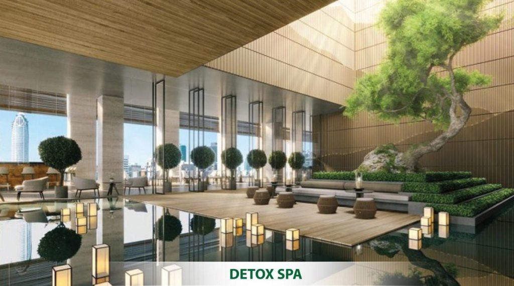 Tổ hợp Spa & Detox quy mô 2000m2