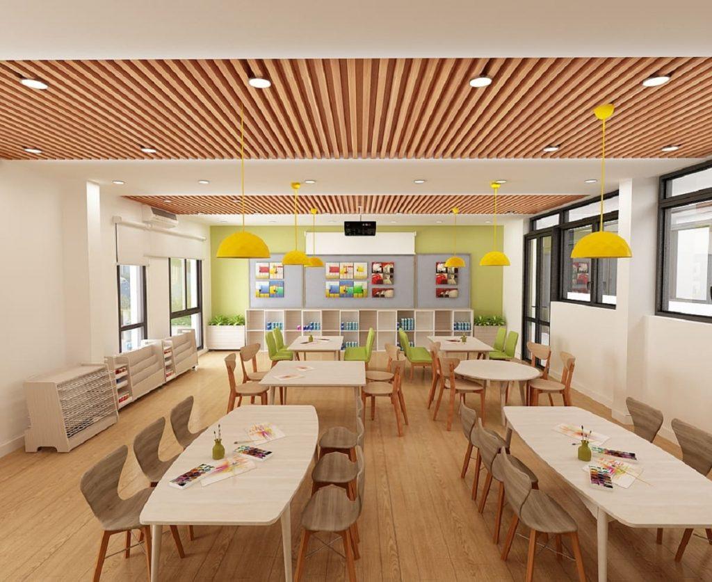 Trường học dự án được xây dựng liên cấp với chất lượng dạy học tối ưu