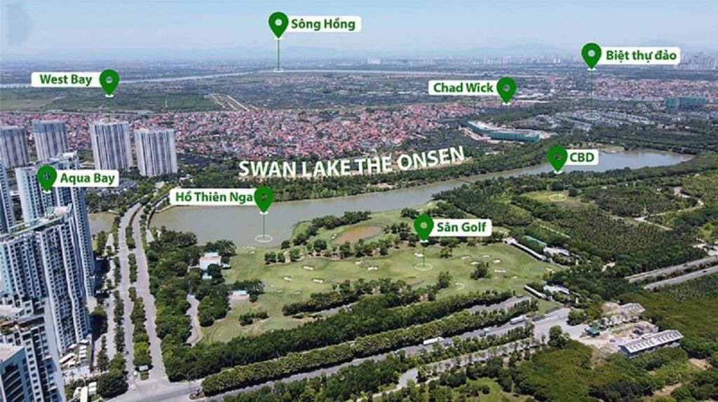 Vị trí Swan Park Onsen Ecopark